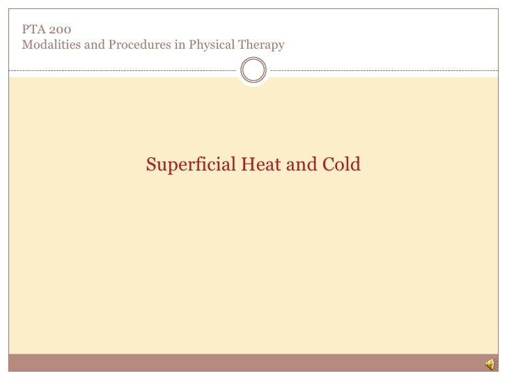 Superfic heat,cold part 1 f10