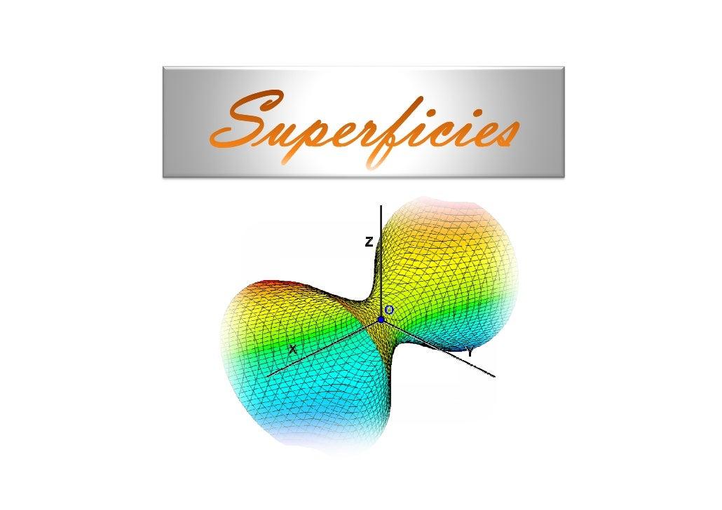 DefiniciónUna superficie en paramétricas en el espacio es unafunción vectorial de la forma:   r (u, v ) = x (u, v ) i + y ...
