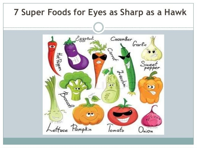 7 Super Foods for Eyes as Sharp as a Hawk