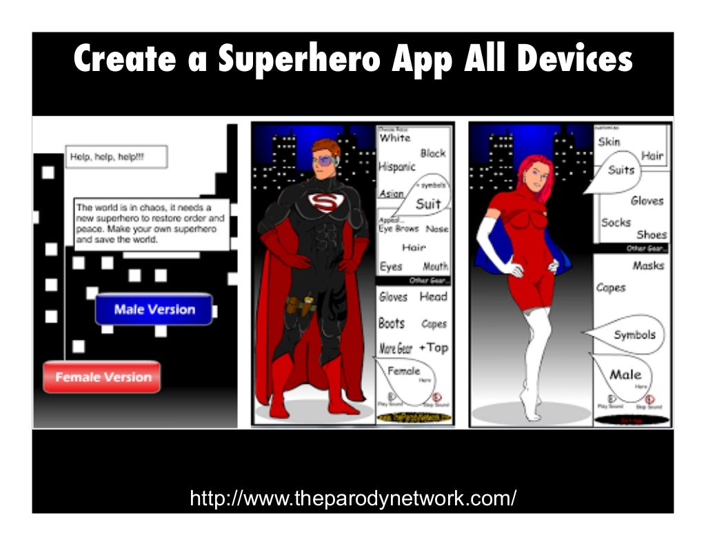 Create A Superhero App All