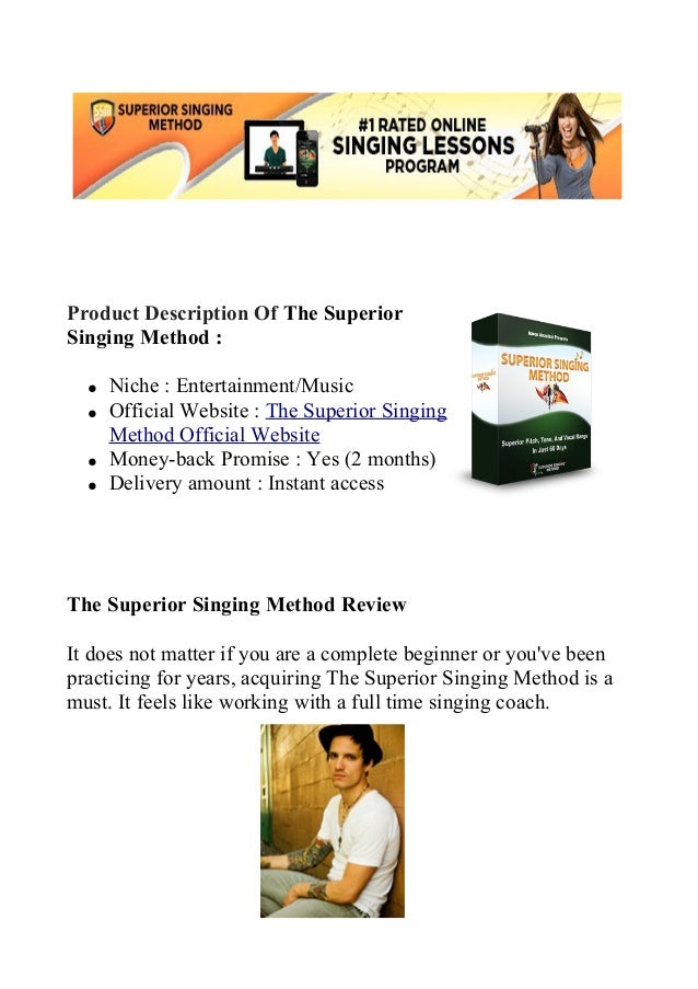 Superior singing method review learn how to sing better
