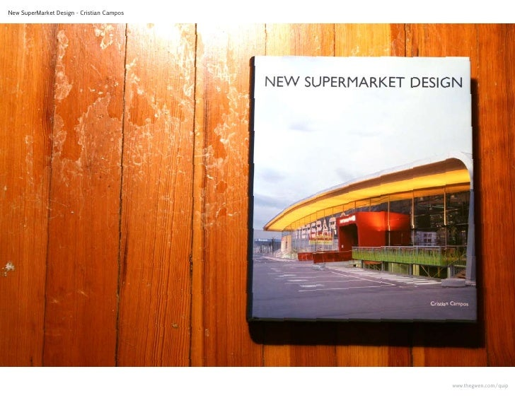 supermarket design book