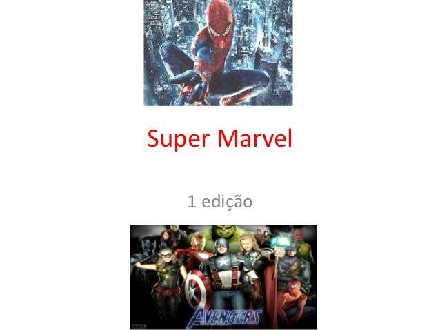Super Marvel   1 edição