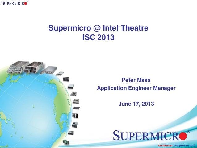 SUPERMICRO Innovative Computing Architecture