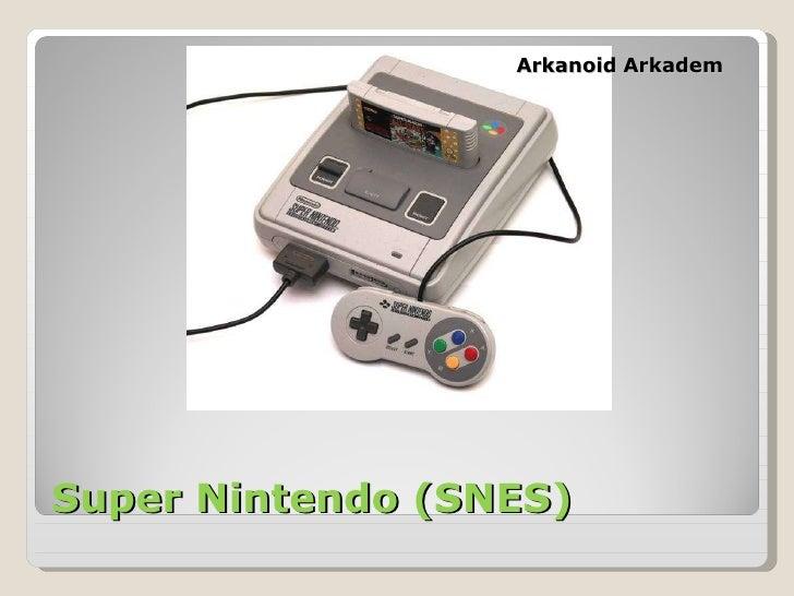 Super Nintendo (SNES) Arkanoid Arkadem