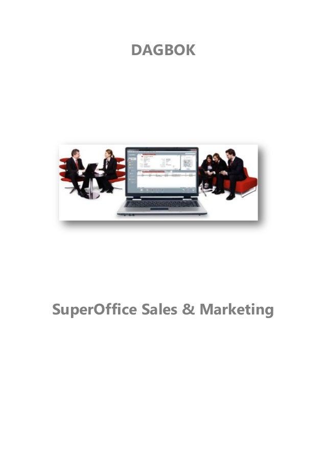 DAGBOK SuperOffice Sales & Marketing