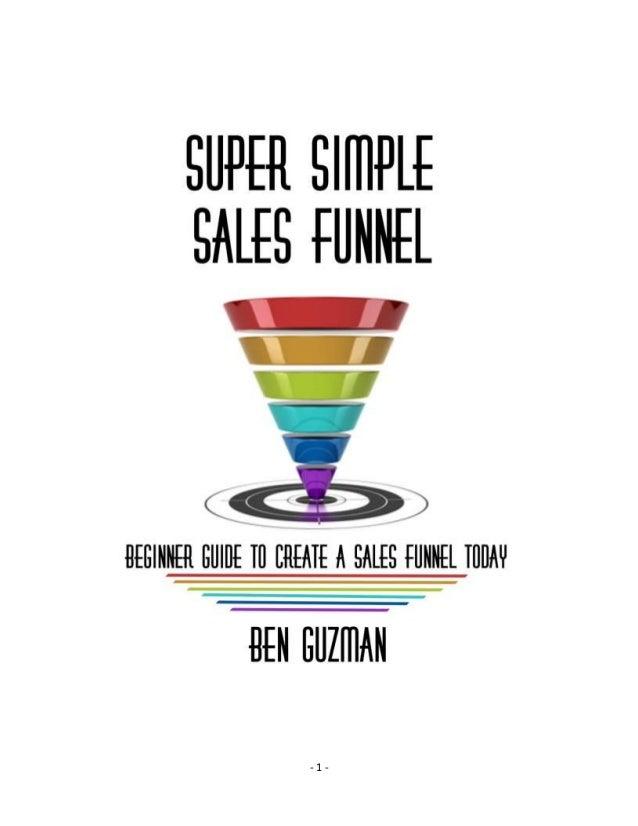 Super Simple Sales Funnel