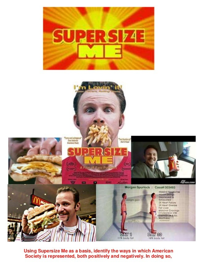 supersize me documentary essay