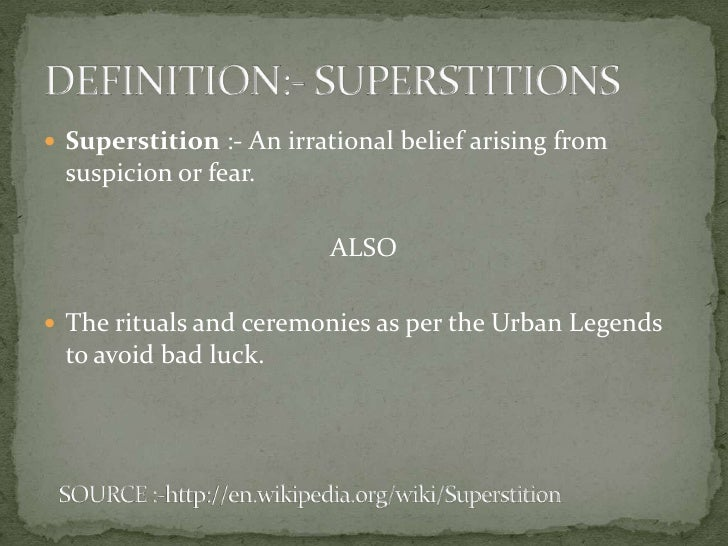 Hinduism and superstitions in India