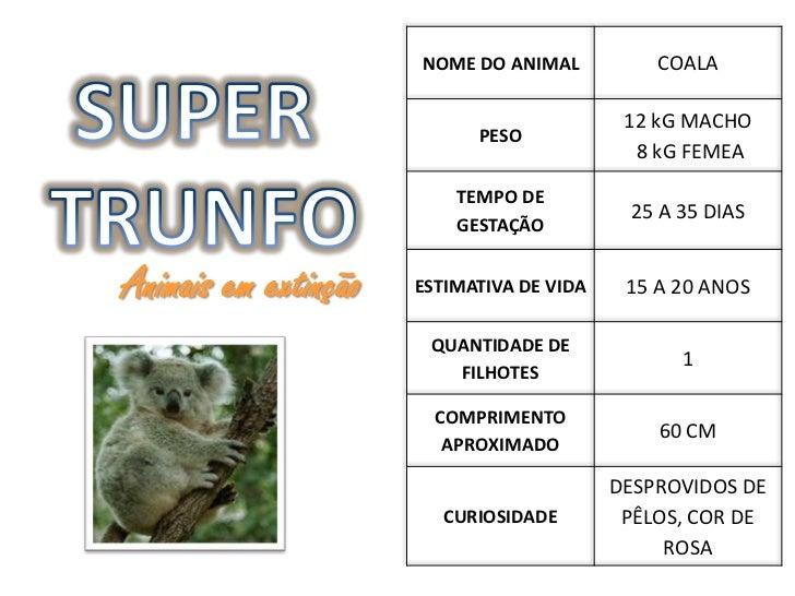 NOME DO ANIMAL           COALA                                            12 kG MACHO                            PESO     ...