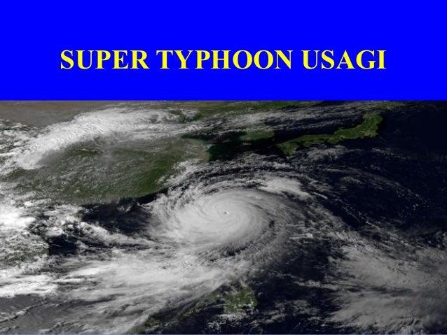 Super Typhoon Usagi Headed Towards The Philippines, Taiwan, And China