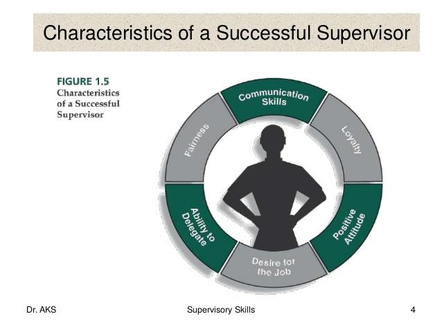 5 qualities good supervisor