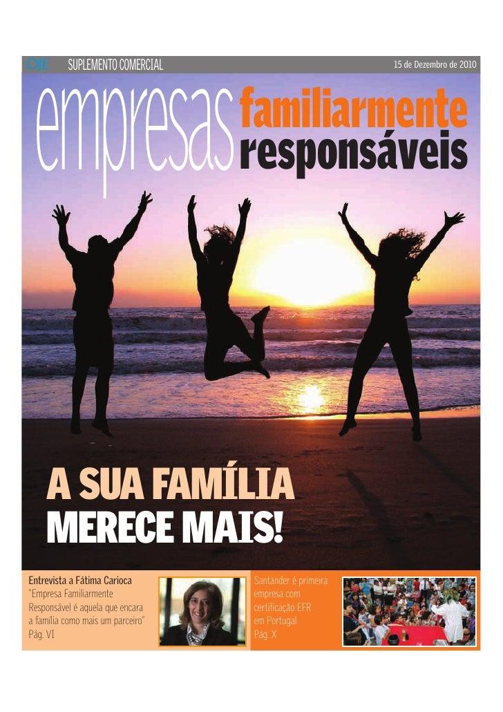 empresas          SUPLEMENTO COMERCIAL                            15 de Dezembro de 2010                                  ...