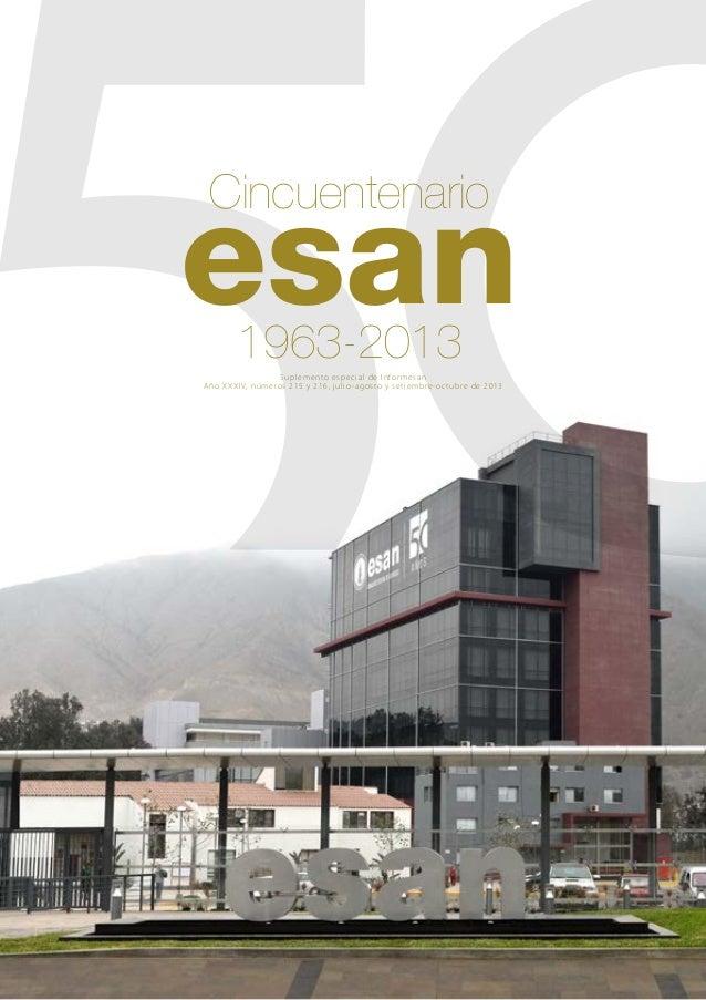 Suplemento especial de Informesan: Cincuentenario ESAN