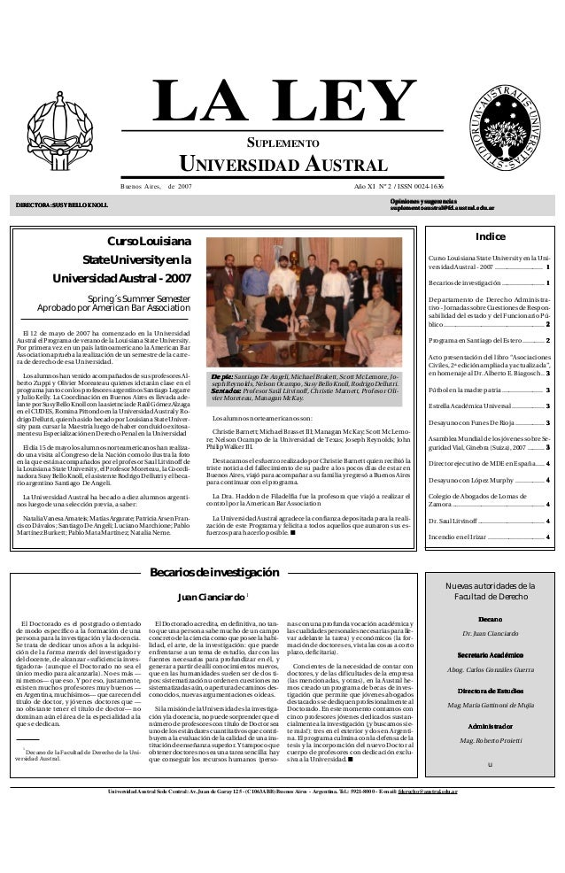 Suplemento univaustral mayo2007
