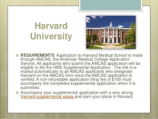 Harvard supplement - Additional Essay?