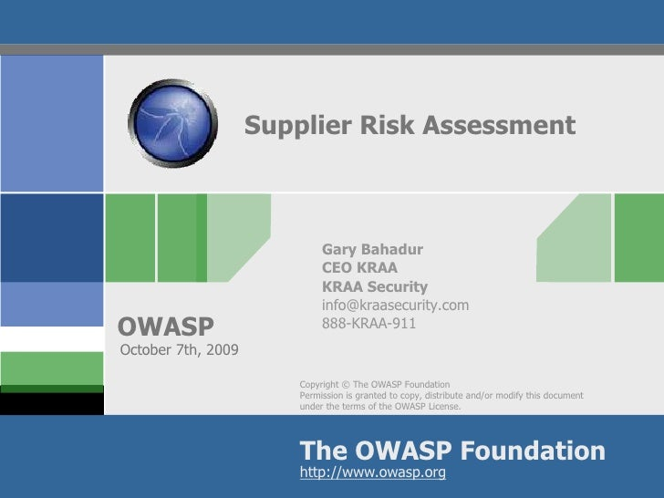 supplier risk assessment Supplier assessment detailed supplier assessment form notes: 1 if a particular element is currently n/a (not applicable) and there is no current risk to magna, enter score of 3 for that element and add a note of explanantion in the notes section.