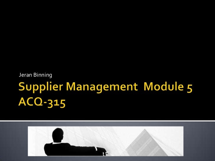 Supplier management v4.0_11_mar_12