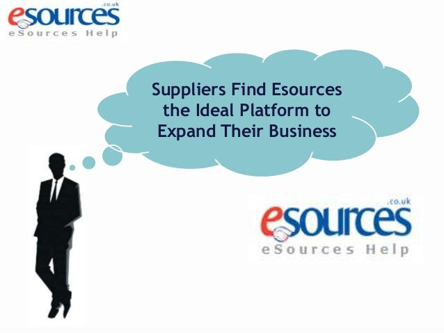 Suppliers Find Esources the Ideal Platform to Expand Their Business