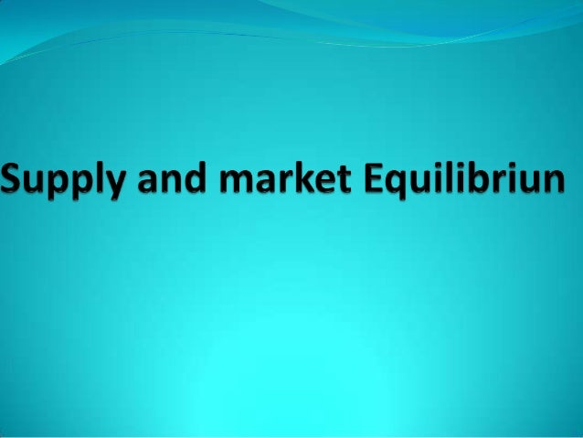 SUPPLY Quantity supplied of any good is the amount that sellers are willing to sell in the market