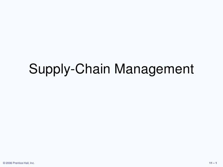 Supply chain-Mohamed Attia-MBA
