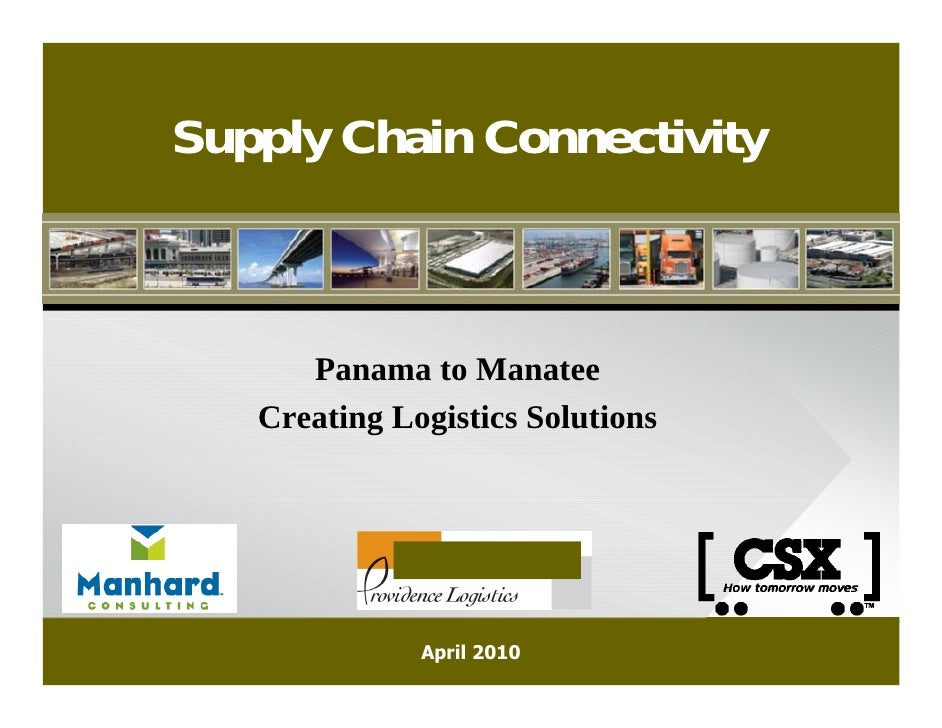 Supply Chain Logistics - Local Solutions Panel