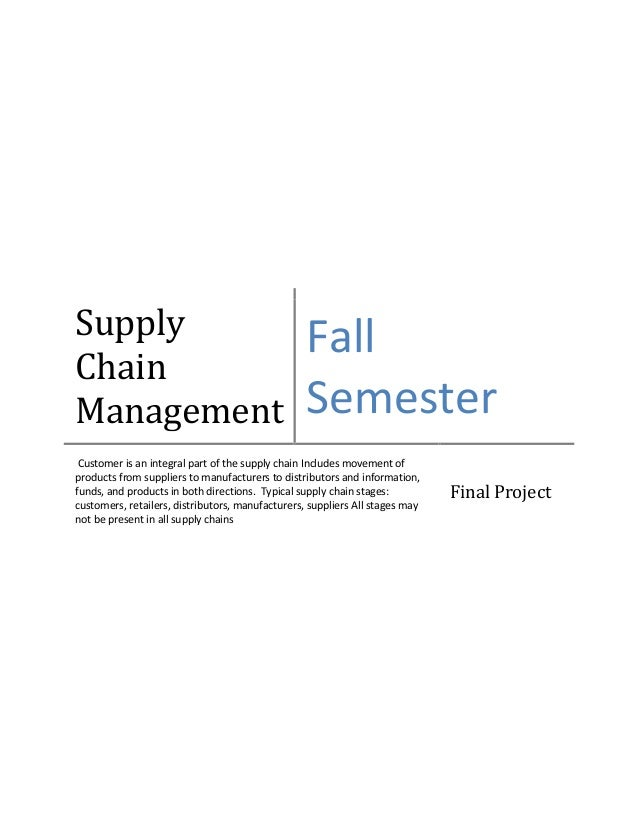 Supply chain management of Milk industry