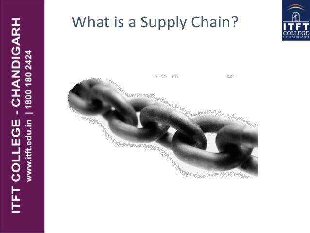 ITFT-- Supply chain management