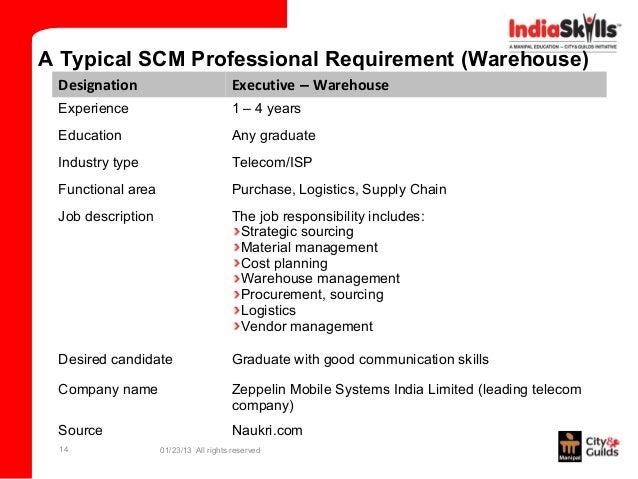 scm description