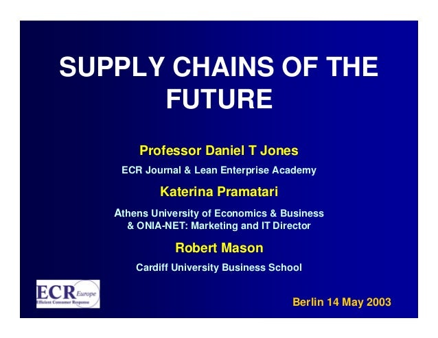 Supply Chains of the Future