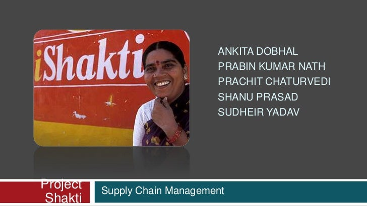 study of supply chain management of hindustan unilever The case examines the supply chain management (scm) restructuring initiative undertaken by unilever, one of the world's largest food and consumer goods companies it explains in detail how the company restructured various components of its scm practices including supply chain organization, procurement, warehousing and distribution the case also examines how unilever used the internet and.
