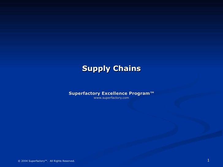 Supply Sample
