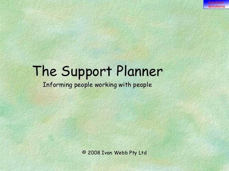 Support Planner V4