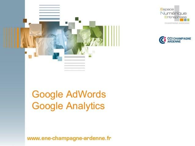 Google AdWords  Google Analytics