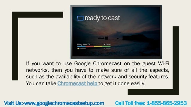 How do you contact Chromecast customer support?