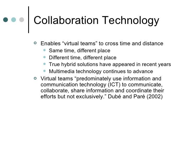 essay on virtual teams