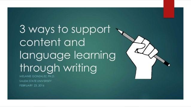 Language learning essay