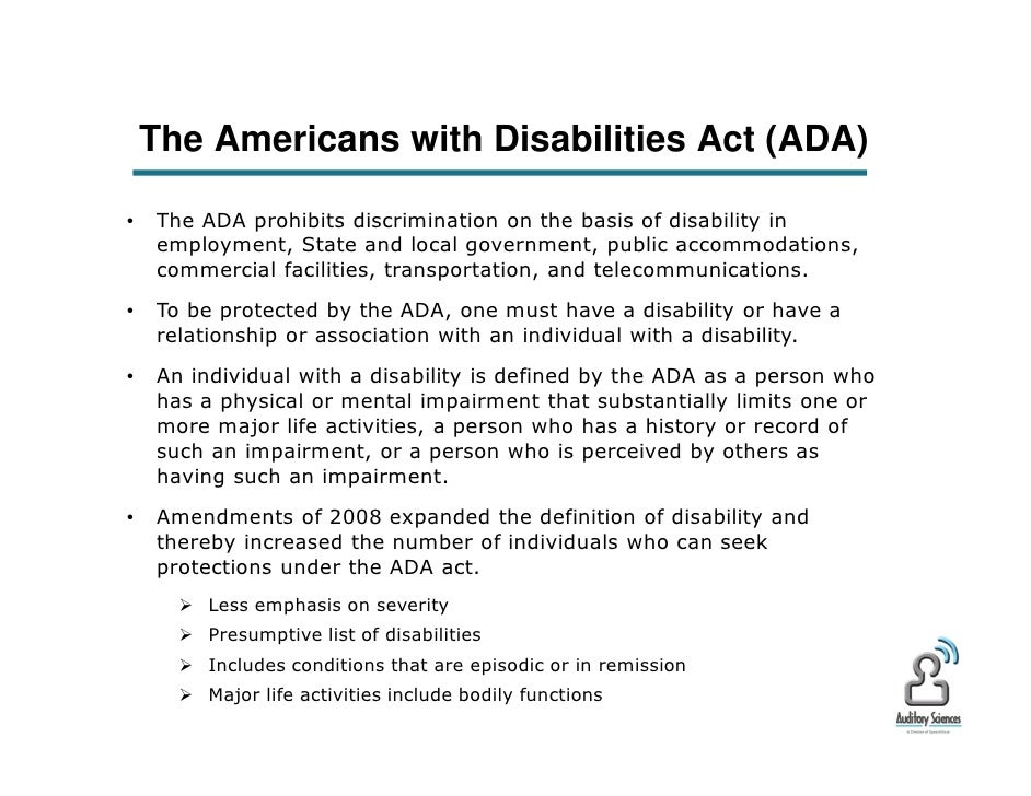 individuals with disabilities essay
