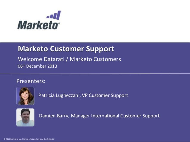 Marketo Global Support Overview