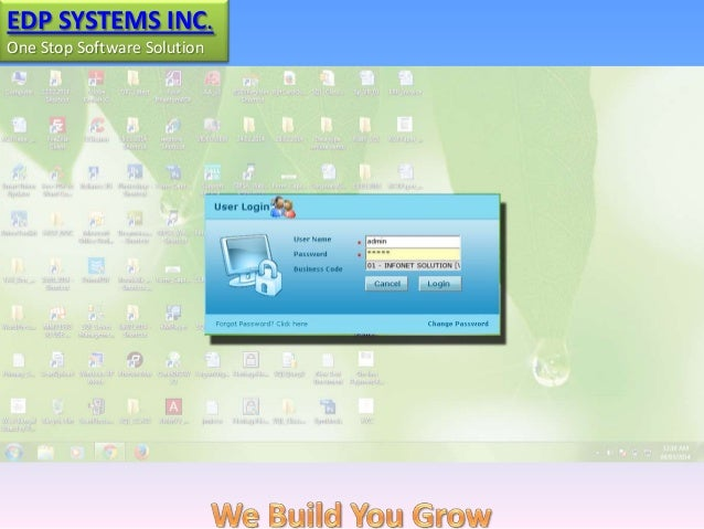 EDP SYSTEMS INC. One Stop Software Solution