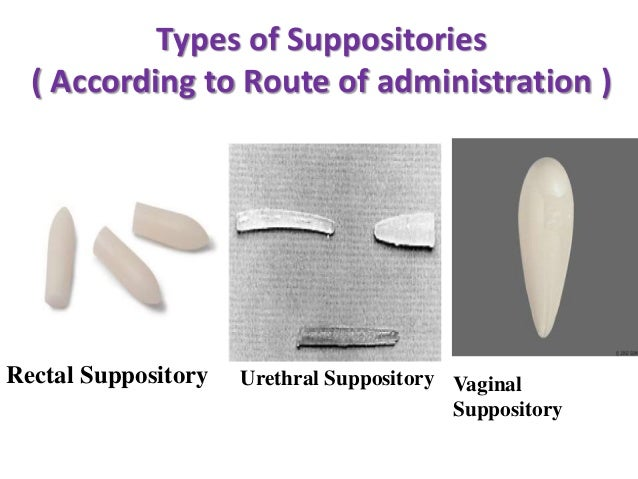 Rectal Suppository