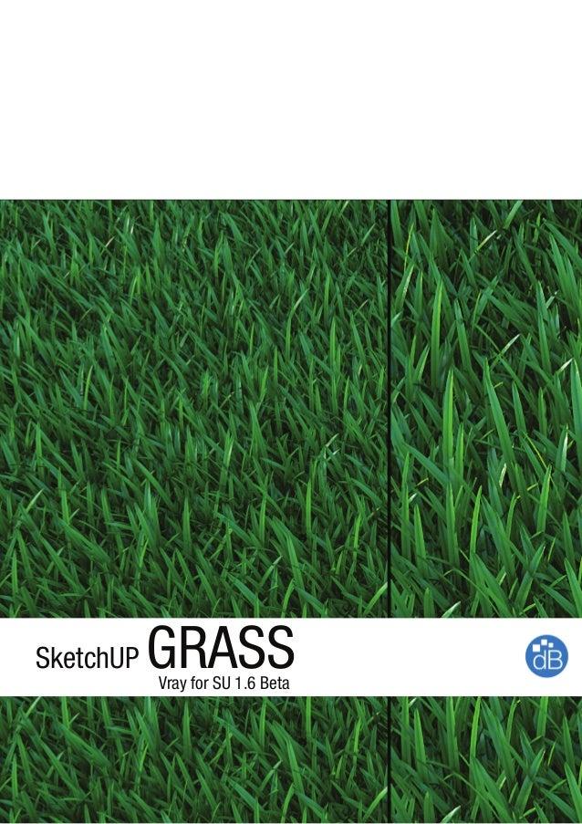 SketchUP GRASSVray for SU 1.6 Beta
