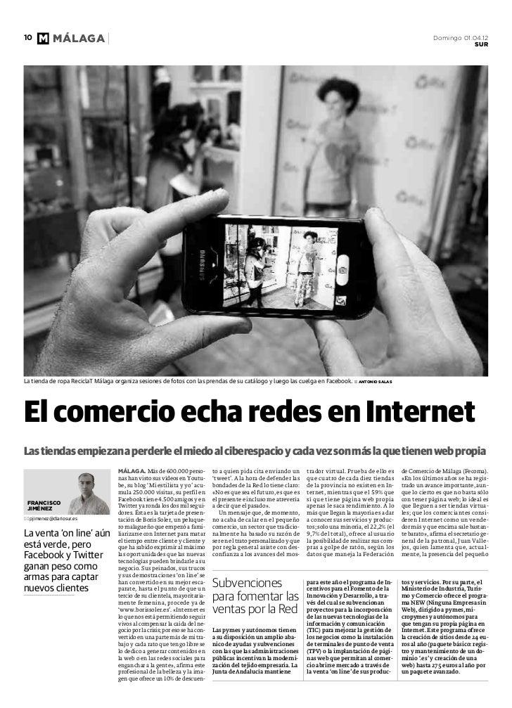 En Sur: El comercio echa Redes en Internet