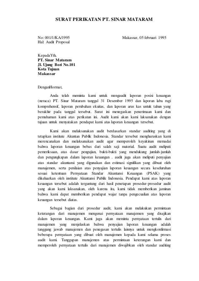 Surat Perikatan Audit