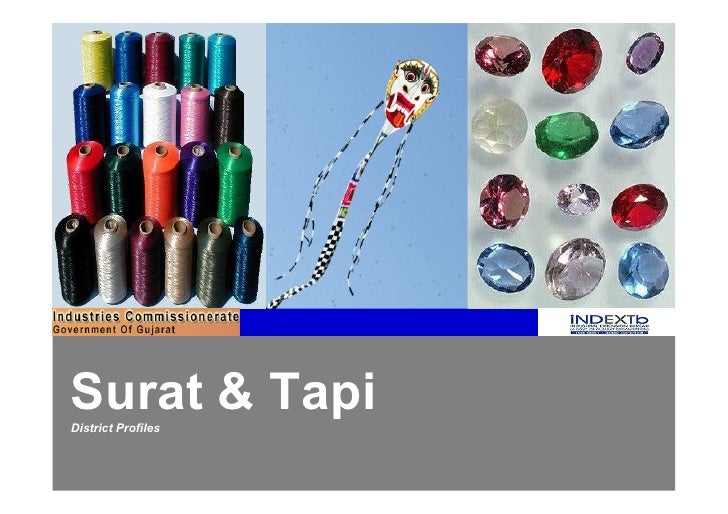 Surat & TapiDistrict Profiles
