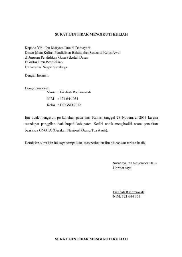 Contoh Surat Lamaran Kerja Atas Inisiatif Sendiri - Contoh ...