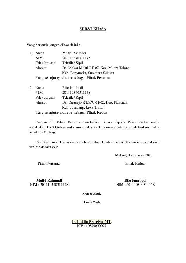 Contoh Surat Pernyataan Sudah Menikah - Contoh Three