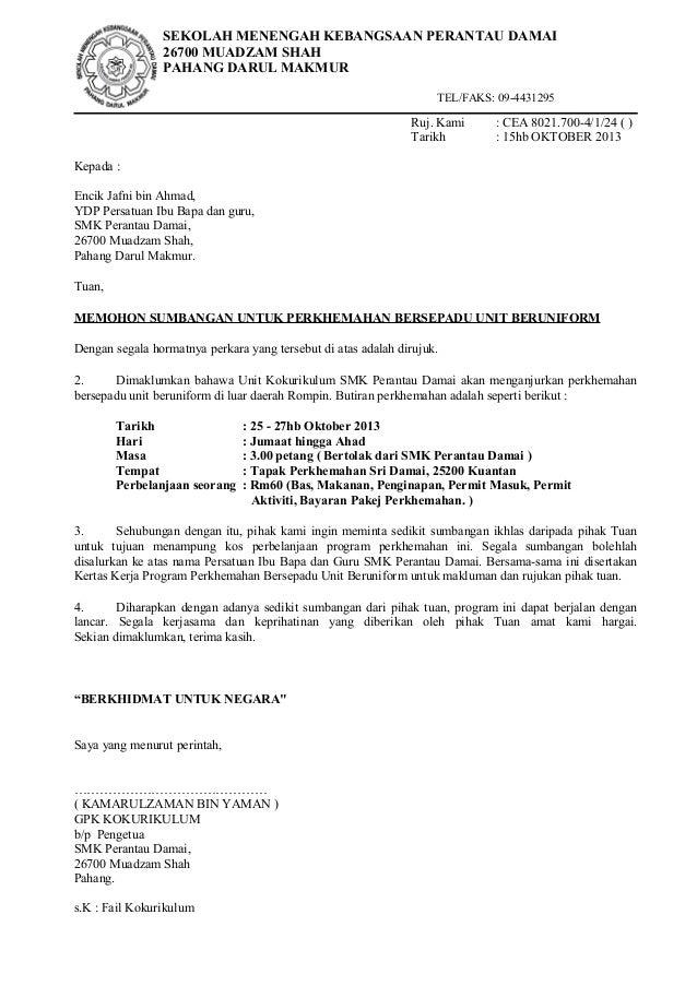 Surat sumbangan.2013