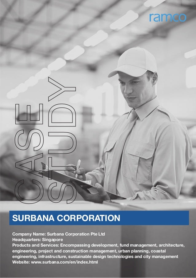 Company Name: Surbana Corporation Pte Ltd Headquarters: Singapore Products and Services: Encompassing development, fund ma...