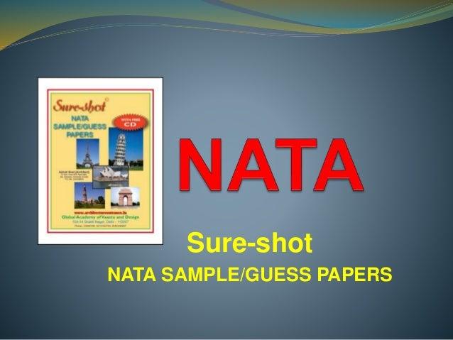 Sure-shot NATA SAMPLE/GUESS PAPERS